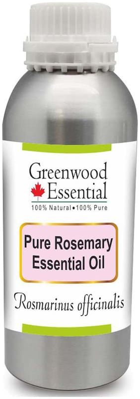 Greenwood Essential Pure Rosemary Essential Oil (Rosmarinus officinalis) 100% Natural Therapeutic Grade Steam Distilled 1250ml