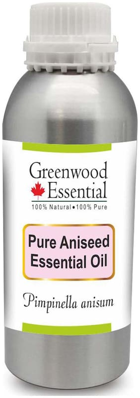 Greenwood Essential Pure Aniseed Essential Oil (Pimpinella anisum) 100% Natural Therapeutic Grade Steam Distilled 1250ml