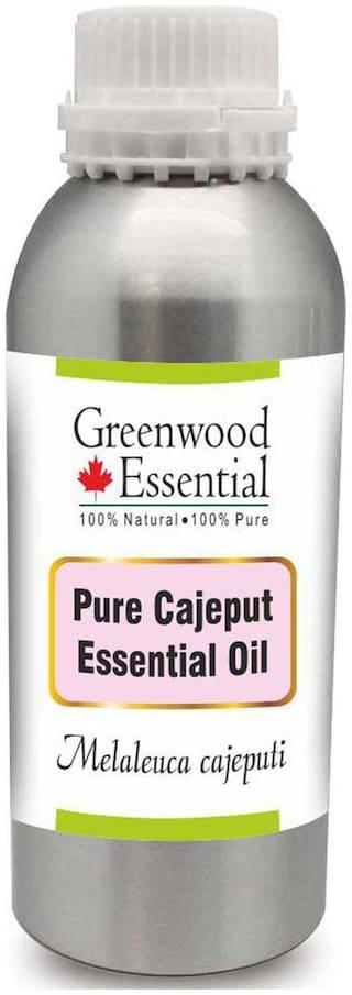 Greenwood Essential Pure Cajeput Essential Oil (Melaleuca cajeputi) 100% Natural Therapeutic Grade Steam Distilled 1250ml