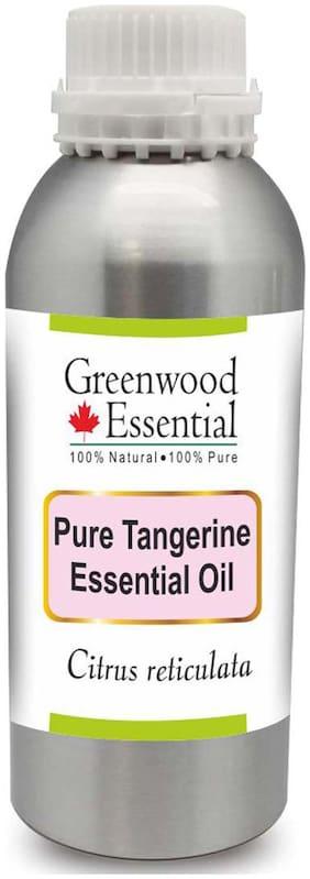 Greenwood Essential Pure Tangerine Essential Oil (Citrus reticulata) 100% Natural Therapeutic Grade Steam Distilled 300ml