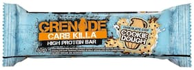 Grenade Carb Killa Protein Bar,Chocolate Chip Cookie Dough,60g,(Pack of 12)
