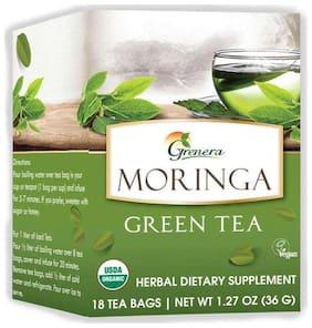Grenera Moringa Green Tea - 18 Tea Bags/Box