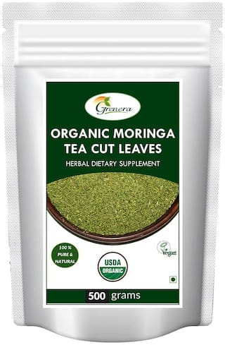 Grenera Organic Moringa Tea Cut Leaves - 500 g