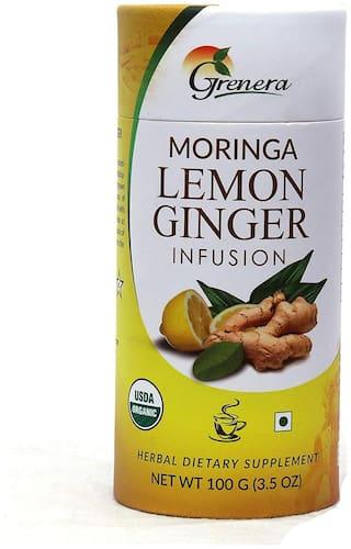 Grenera Moringa Lemon Ginger Loose Tea - 100 g