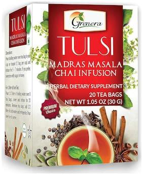 Grenera Tulsi Madras Masala Tea - 20 Tea Bgas / Box
