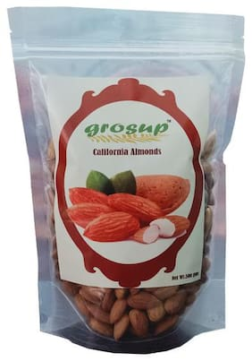 Grosup 500g California Almonds (Pack Of 1)