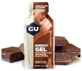 GU Energy Gel Chocolate outrage 32 g each (Pack Of 24)