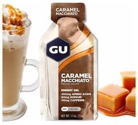 GU Energy Gel caramel macchiato 32 g each (Pack Of 24)