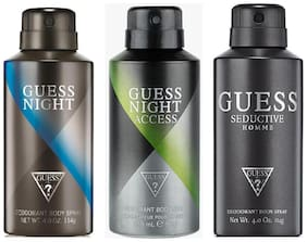 Guess S Homme Night Access Night Combo Set (Set Of 3)