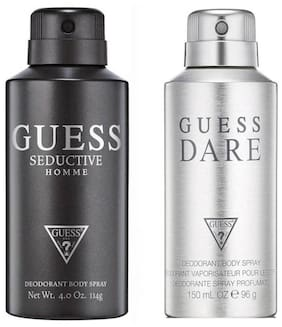 Guess Seductive Homme & Dare Homme Deo Combo Set(Pack of 2)