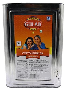 Gulab Refined Cotton Seed Oil  15 kg