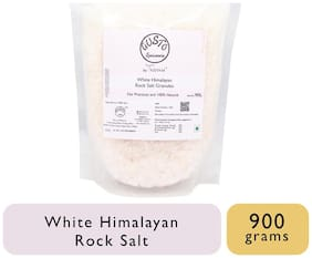 Gusto Spicerie White Himalayan Rock Salt Granules 900 Grams 1Pc