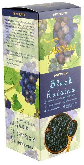 Tassyam Premium Black Raisins 250g Kali Draksh