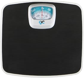 GVC Iron - Analog Weighing Scale - Black