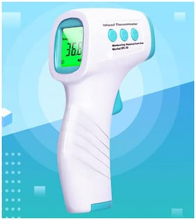 GVC Non-Contact Forehead Infrared Thermometer - Accurate Readings in 1sec for Adults and Kids