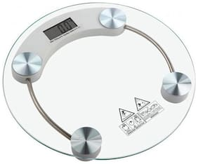 GVC Thick Tempered Glass Weighing Scale 180 kg Capacity 8mm