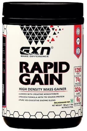 GXN Rapid Gain Mass Gainer 500 g;Milkshake Pie