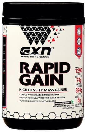 GXN Rapid Gain Mass Gainer 500 g;Chocolate Swirl