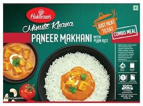 Haldirams Ready To Eat Paneer Makhani With Plain Rice 375 g