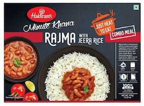 Haldirams Ready To Eat - Rajma With Jeera Rice (Del) 375 g