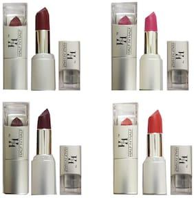 Half N Half Reddish Brown Lipstick (Shade No 3,7,2 And 9) Multi 4g (Pack of 4)