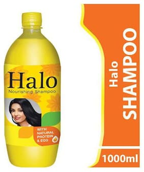 Halo Shampoo - With Natural Protein & Egg 1 L