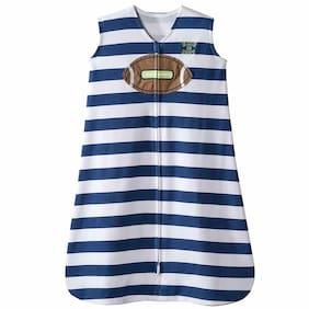 Halo Velour Sleepsack Wearable Blanket Football Stripe - Sizes Small & Medium