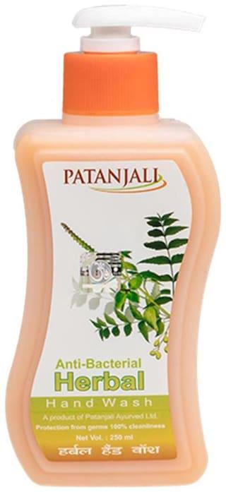 Patanjali Hand Wash(Anti-bacterial)-250 ml