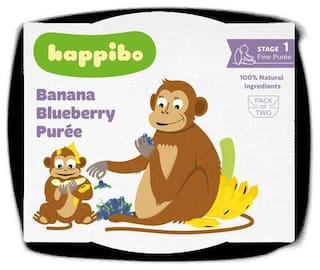 Happibo Banana Blueberry Puree 100 g