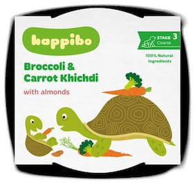 Happibo Broccoli & Carrot Khichdi 215 gm