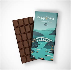 Happyness Artisanal Couverture Dark Chocolate (55% Cocoa) 100g