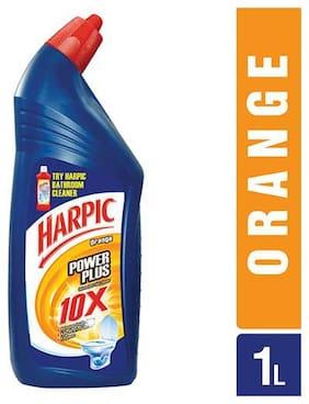 Harpic Disinfectant Toilet Cleaner - Orange  Power Plus 1 L