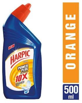 Harpic Disinfectant Toilet Cleaner - Orange  Power Plus 500 ml