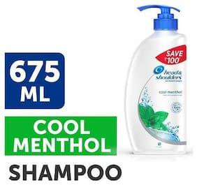 Head & Shoulder Antidandruff Shampoo Cool Menthol 675 ml
