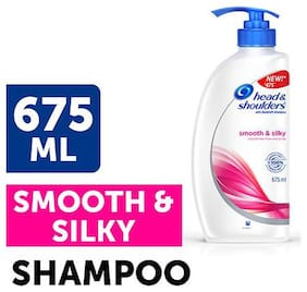 Head & Shoulder Antidandruff Shampoo Smooth & Silky 675 Ml