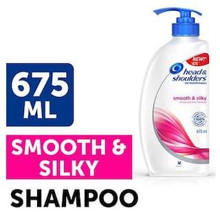 Head & Shoulder Antidandruff Shampoo Smooth & Silky 675 Ml