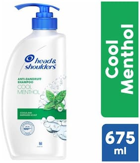 Head & Shoulder Anti-Dandruff Shampoo Cool Menthol 675 ml