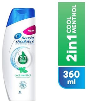 Head & Shoulders Shampoo + Conditioner - 2-In-1 Cool Menthol 360 ml