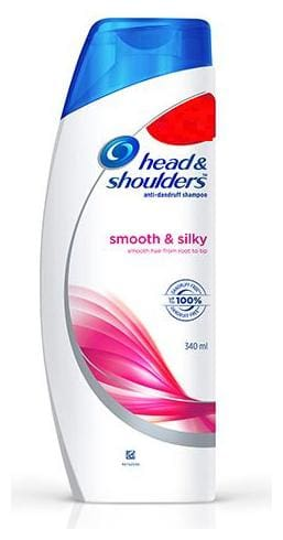 Head & Shoulder  Anti-Dandruff Shampoo - Smooth & Silky 340 ml