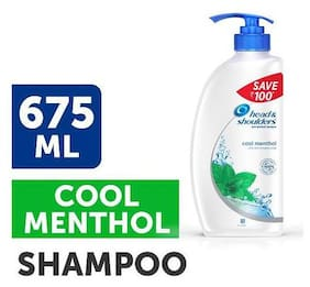 Head & Shoulder Antidandruff Shampoo Cool Menthol 675 Ml