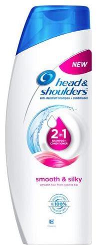 Head & Shoulders 2-In-1 Shampoo + Conditioner - Smooth & Silky 360 Ml