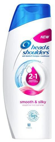 Head & Shoulders 2-In-1 Shampoo + Conditioner - Smooth & Silky 180 ml