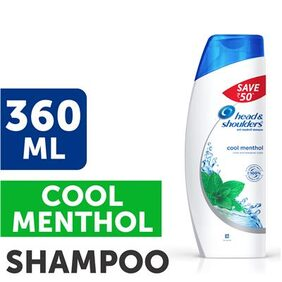 Head & Shoulders Cool Menthol Shampoo 360 ml