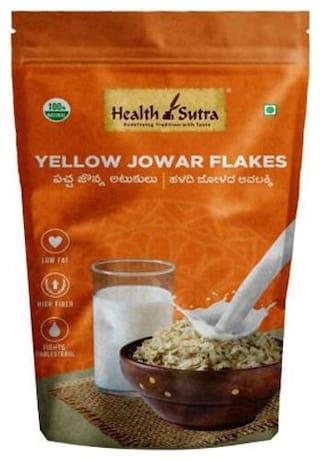 Health Sutra  Yellow Jowar Flakes 250 g