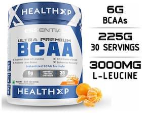 HealthXP Essential Series BCAA 3:1:2 30 Servings 225 g Orange