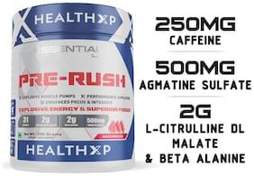 HealthXP Essential Series Pre Rush Pre Workout 250Gm Watermelon