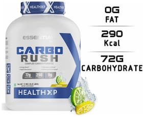 HealthXP Essential Series Carbo Rush 6.6lb Lemon
