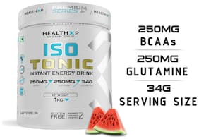 HealthXP Premium Series Isotonic Instant Energy Drink 1Kg Watermelon