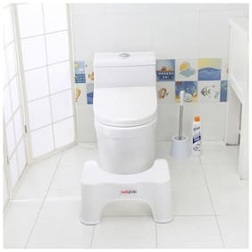 Healthgenie Toilet Stool to Suit Indian Specifications for Western Toilet - 17 cm