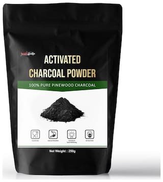 Healthgenie Activated Charcoal Powder Pinewood 250 Gm